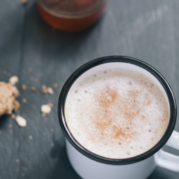 Fig and Black Pepper Latte