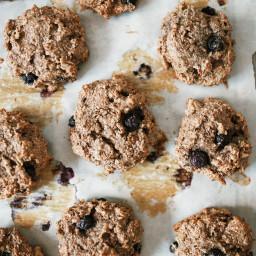 Fig + Blueberry Breakfast Cookies