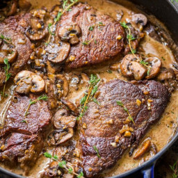Filet Mignon Recipe in Mushroom Sauce (VIDEO)