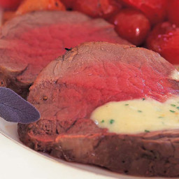 Filet of Beef with Gorgonzola Sauce