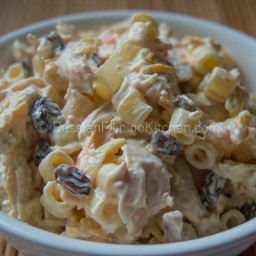 Filipino Chicken Macaroni Salad