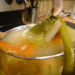 Filipino Sinigang (Tamarind Soup)