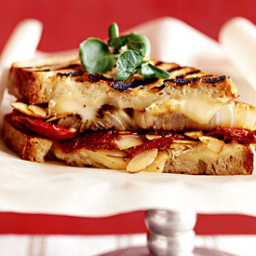 Filled-and-Grilled Cheese Sandwich