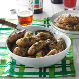 Fingerling Potatoes with Fresh Parsley and Chives