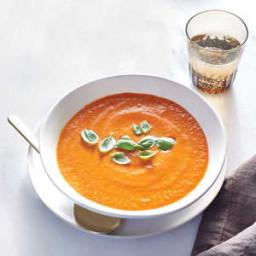 Fire-Roasted Tomato-Basil Soup