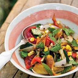 Fire-Roasted Vegetable Salad