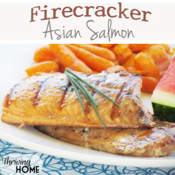 Firecracker Asian Salmon (Grilled or Roasted)