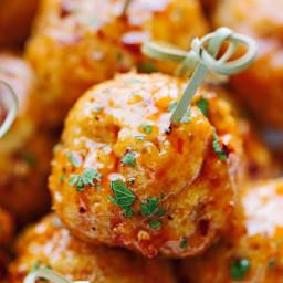 Firecracker Chicken Meatballs