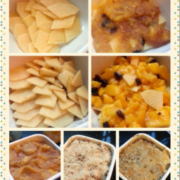First Apple Crumble (eggless)