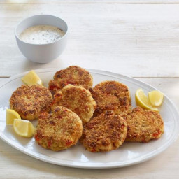 Fish and Lobster Cakes