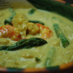 Fish Curry with Spinach and Coconut