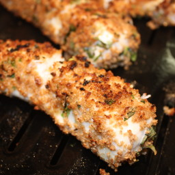 Fish: Halibut with Garlic and Herbs