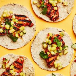 Fish Tacos al Pastor