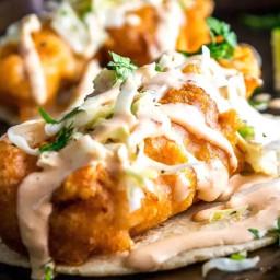 Fish Tacos - Baha Style