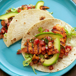 Fish Tacos with Habanero Salsa