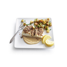 Fish with Tahini (Samak bi Tahini)