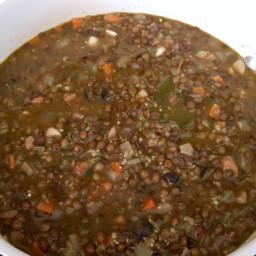 Fisherman's Lentil Soup