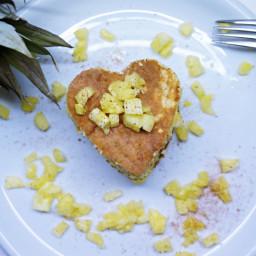 Fitness-Frühstück für den Valentinstag