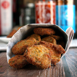 Five Ingredient Homemade Fried Pickles