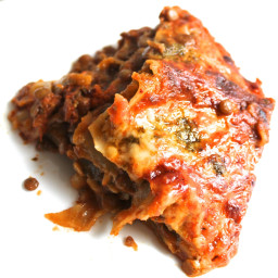 Five ingredient lentil lasagne