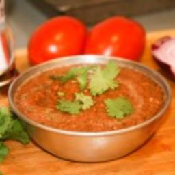 Five-Ingredient Roasted Habanero Salsa
