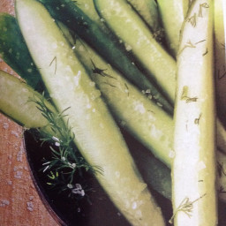 Five-minute Dill Pickle