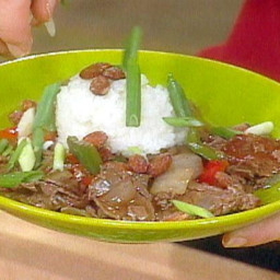 Five Spice Beef and Pepper Stir-Fry