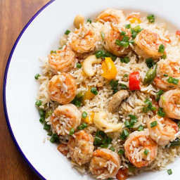 Five Spiced Fried Rice, How to make Prawns Five Spiced Fried Rice Recipe