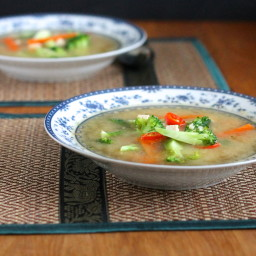 Five-Vegetable Soup