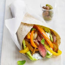 Flank Steak Souvlakis