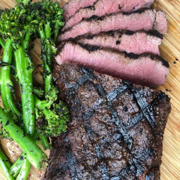Flat Iron Steak (Sous Vide and Grilled)