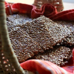Flax Seed Crackers Recipe