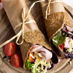 Flaxseed Keto Wraps