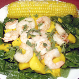 FlorentineShrimp Mango Salad