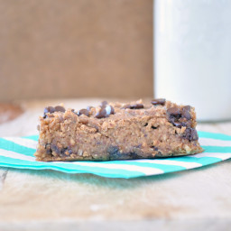 Flourless Almond Joy Blondies