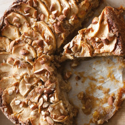 Flourless Apple, Almond, and Ginger Cake