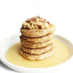 Flourless Cinnamon Stuffed Pancakes
