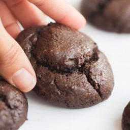 Flourless Keto Fudge Cookies