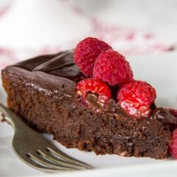 Flourless Nutella Cake