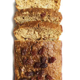 Flourless Oatmeal Raisin Banana Bread