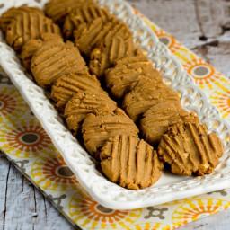 Flourless, Sugar-Free, Gluten-Free Peanut Butter Cookies (VIDEO)
