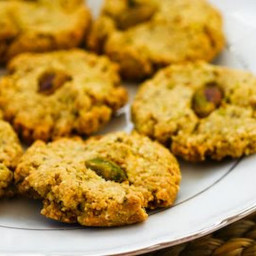 Flourless Sugar-Free Pistachio Cookies