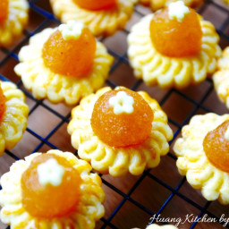 Flower Blossom Pineapple Tarts 花朵黄梨塔