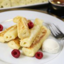 Fluffy Nalisniki Recipe (Cottage Cheese Crepes)