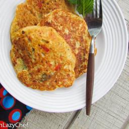 Fluffy Nigerian Yam Pancakes