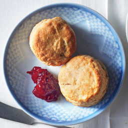 Fluffy Thyme-Herbed Biscuits