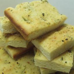 Focaccia Flat Bread Homemade (Bread Machine)