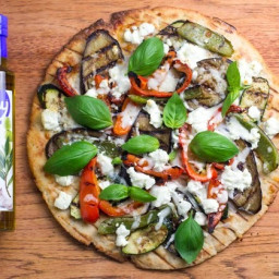 Fody's Gluten Free Grilled Vegetable & Goat Cheese Pizza