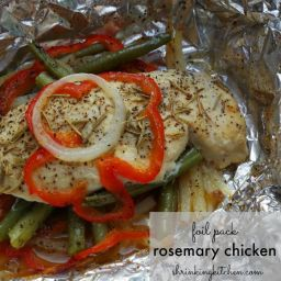 Foil Pack Rosemary Chicken