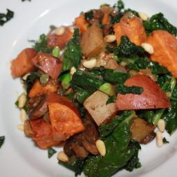 FOK - Mushrooms, Kale and Potatoes